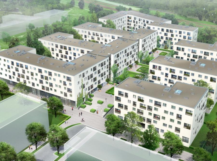 W sumie wybudowanych zostanie siedem bloków