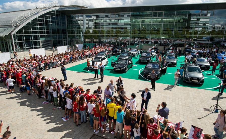 Nowe Audi dla piłkarzy Bayernu Monachium