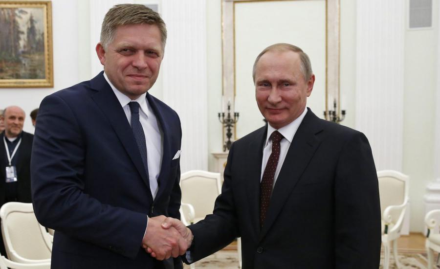 Premier Słowacji i prezydent Rosji