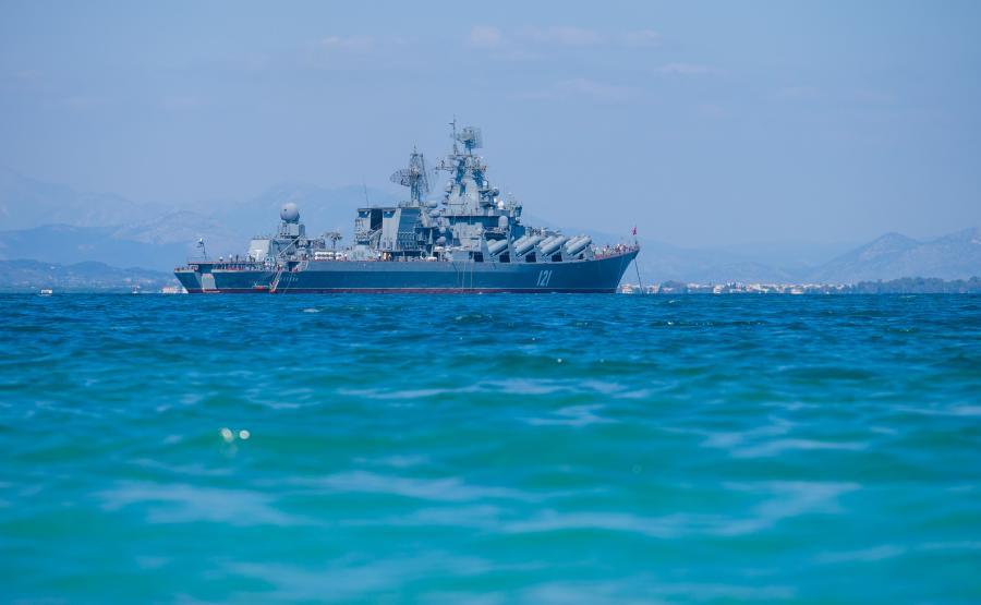 Rosyjski krążownik rakietowy \
