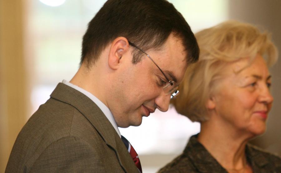 Krystyna Kornicka-Ziobro i Zbigniew Ziobro