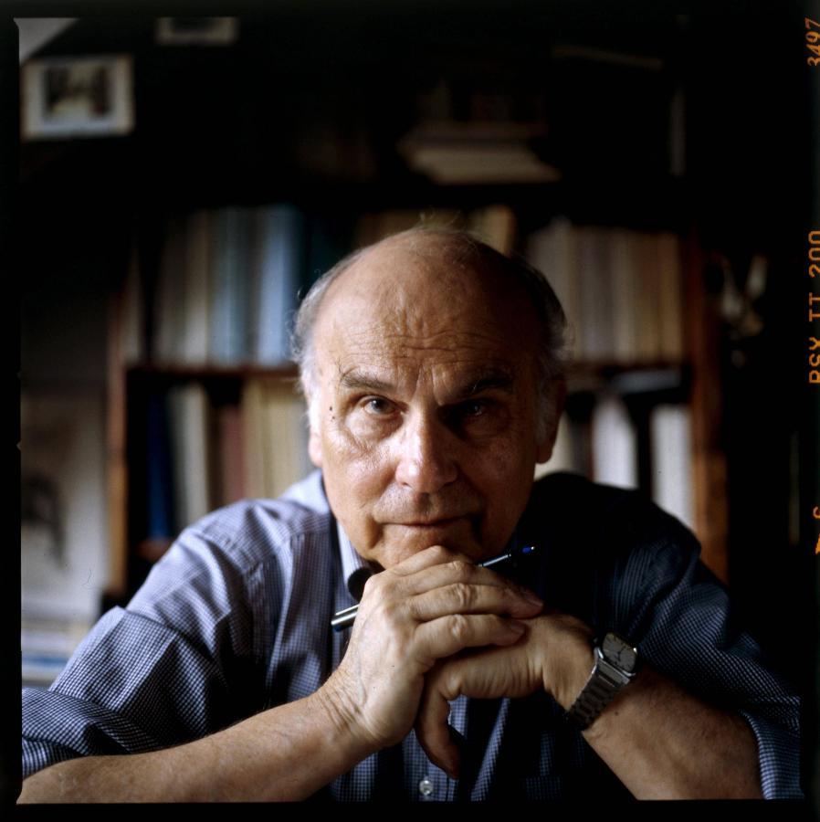 Ryszard Kapuściński w swojej pracowni