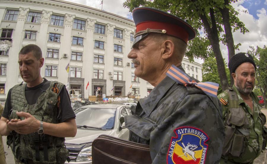 Donieccy Kozacy w Ługańsku