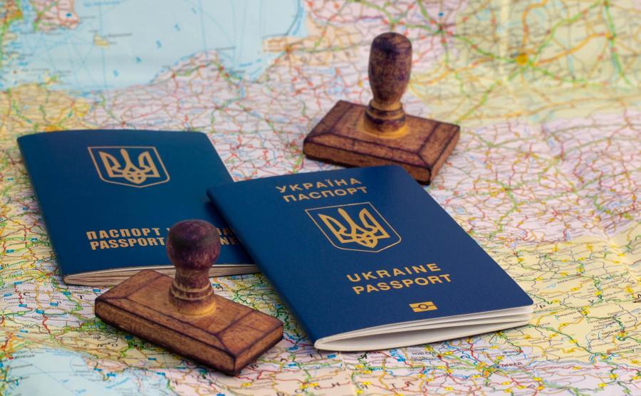 Ukraińskie paszporty na mapie Polski