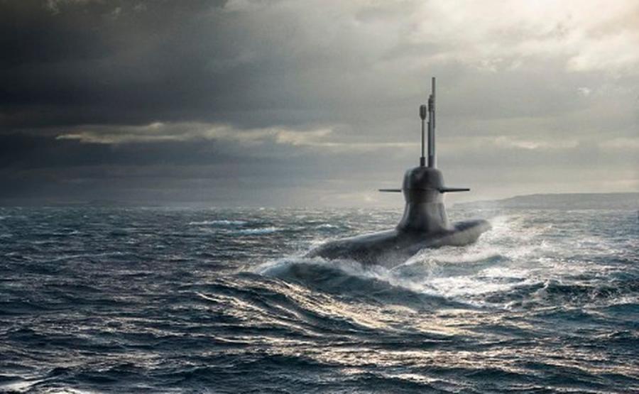 Okręt podwodny A26 - wizualizacja