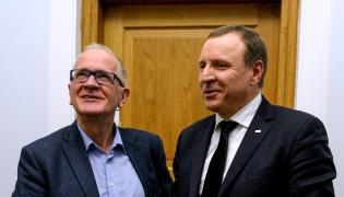 Krzysztof Czabański i Jacek Kurski