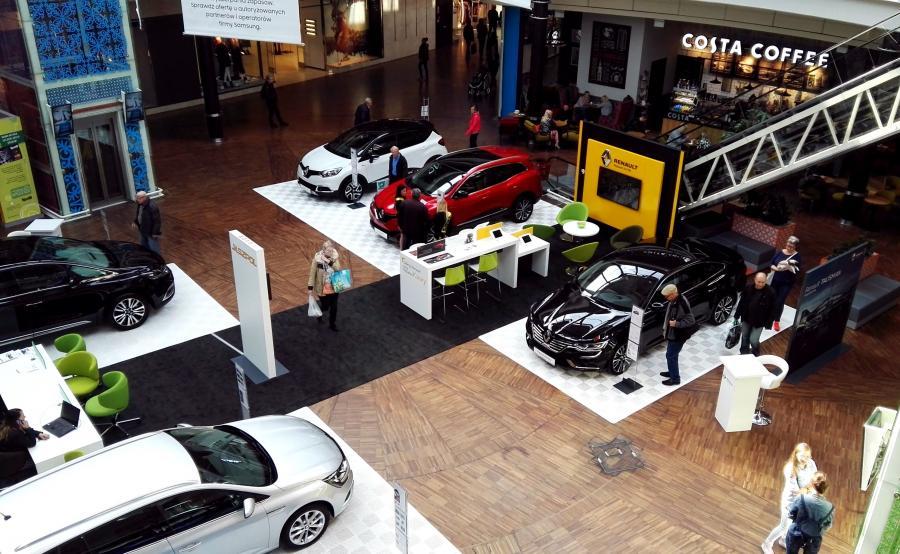Można oglądać wszystkie obecnie dostępne modele samochodów Renault