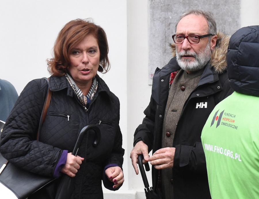 Wicemarszałek Sejmu Małgorzata Kidawa Błońska z mężem reżyserem Janem Kidawą-Błońskim