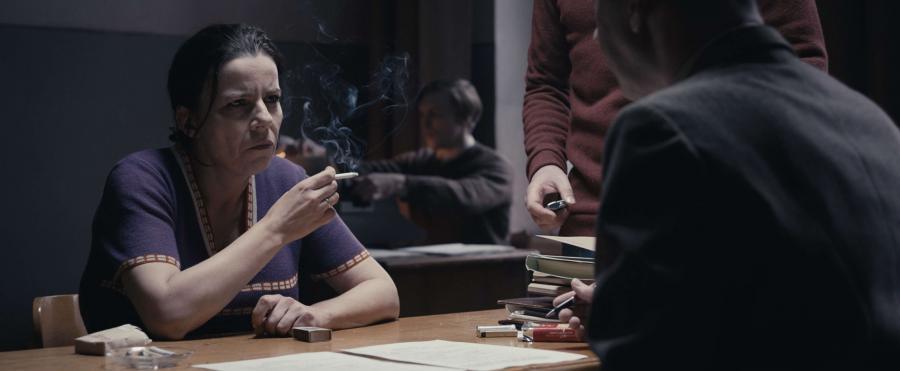 """Agata Kulesza w filmie """"Jestem mordercą"""""""