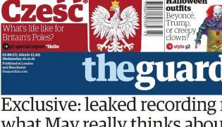 """""""The Guardian"""" pozdrawia Polaków: """"Cześć"""""""