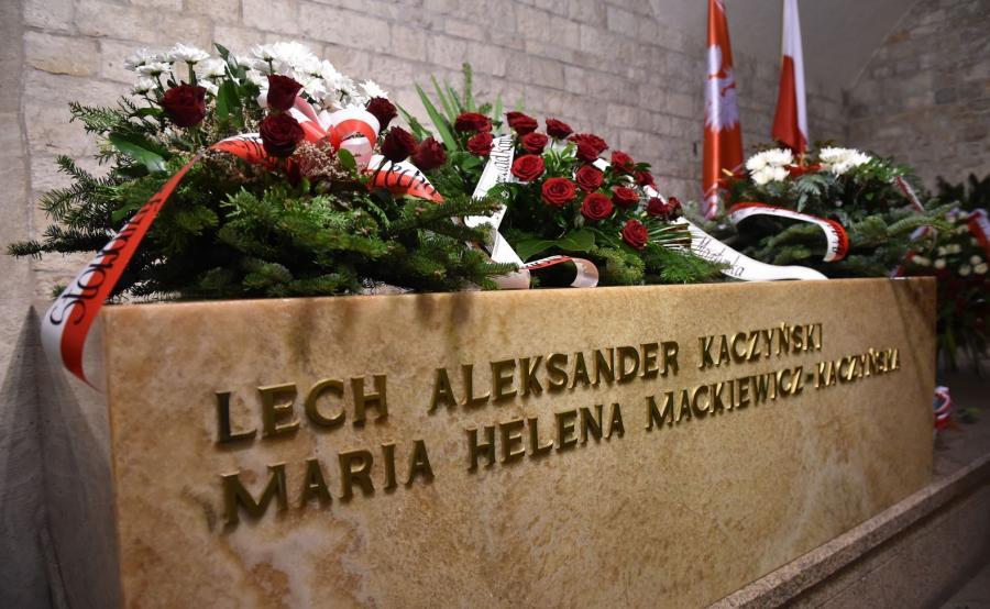 Grób Marii i Lecha Kaczyńskich