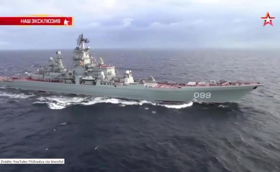 Rosyjska flota na Morzu Północnym