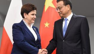 Premier Beata Szydło oraz z premier Chińskiej Republiki Ludowej Li Keqiang