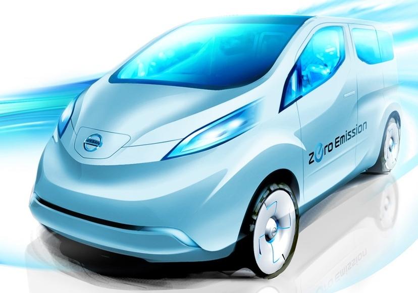 Elektryczny Nissan dla zapracowanych