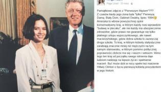 Kinga Rusin i Bill Clinton
