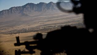 Lot wojskowym śmigłowcem Mi-17 z bazy Ghazni do bazy Bagram