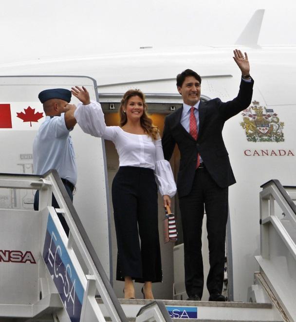 Sophie Grégoire Trudeau i Justin Trudeau