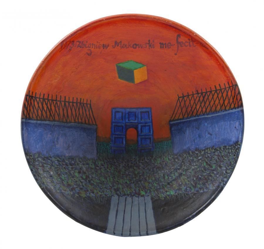 Malarstwo na ceramice: Zbigniew Makowski