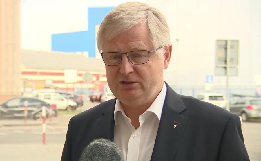 Radny PiS Jerzy Milewski