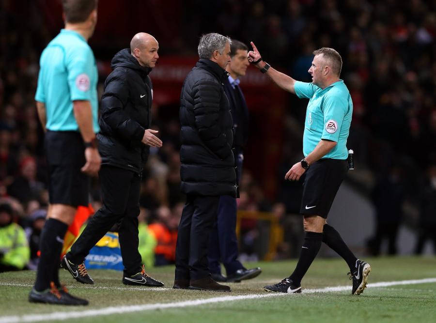 Jose Mourinho i Jonathan Moss