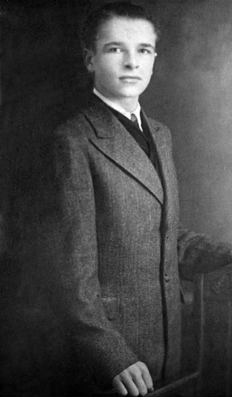 Czesław Kiszczak. Fotografia z dzieciństwa