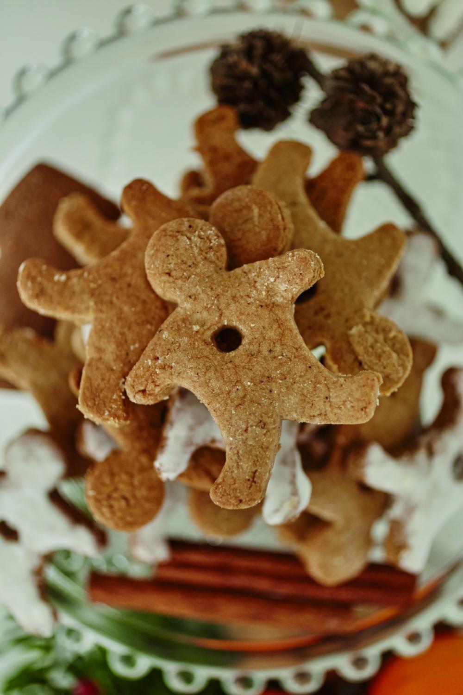 świąteczne ciasteczka / ilustracja z książki \