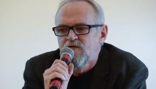 Paweł Kasprzak z nieformalnej grupy Obywatele RP