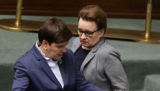 Anna Zalewska i Beata Szydło