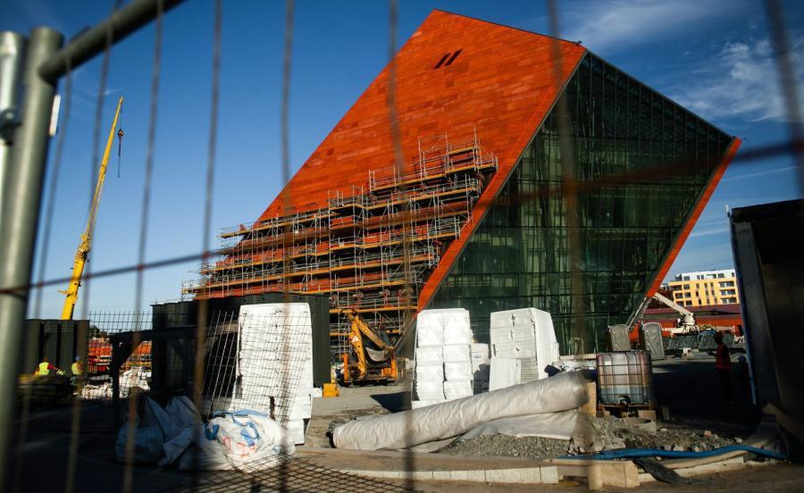 Muzeum II Wojny Światowej w budowie