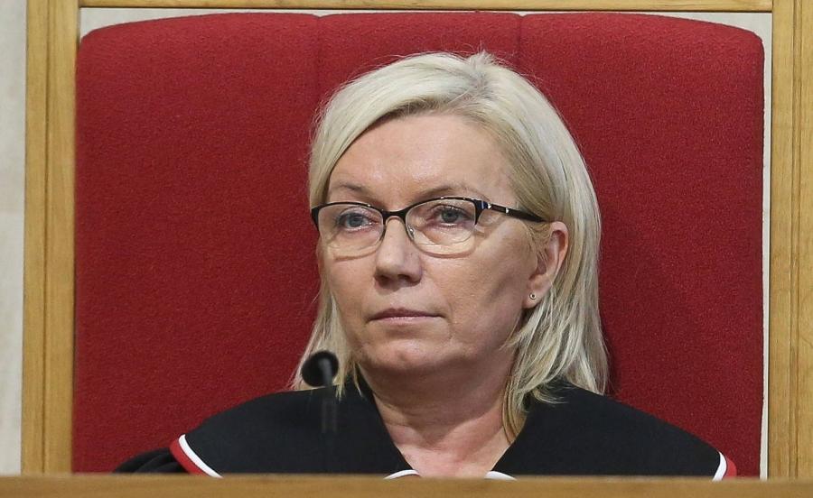 Na zdjęciu archiwalnym z dnia 11.08.2016. sędzia TK Julia Przyłębska