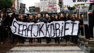 Czarny protest. Strajk kobiet