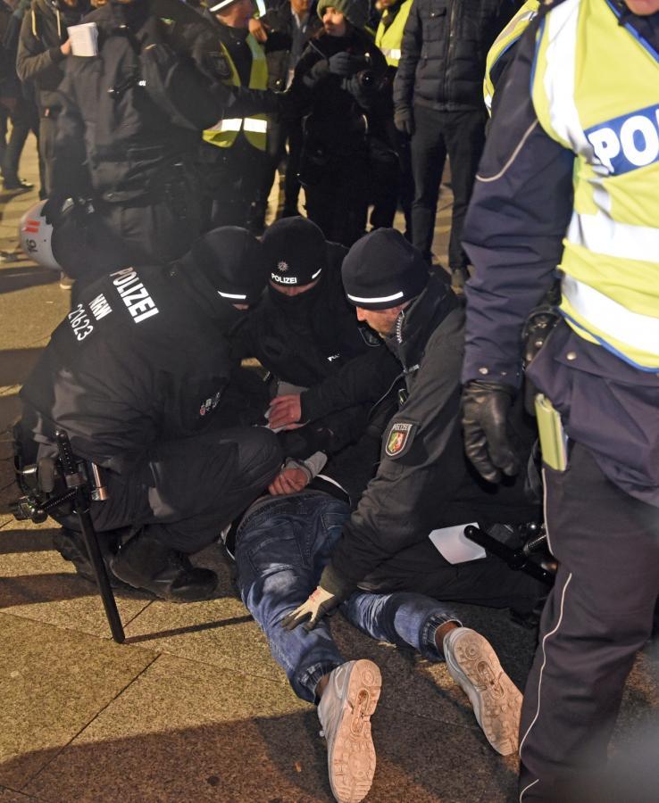 Mężczyzna zatrzymany przez policję w Kolonii