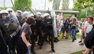 Zamieszki w czasie Marszu Równości w Gdańsku