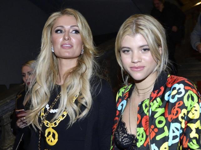 Paris Hilton i Sofia Richie
