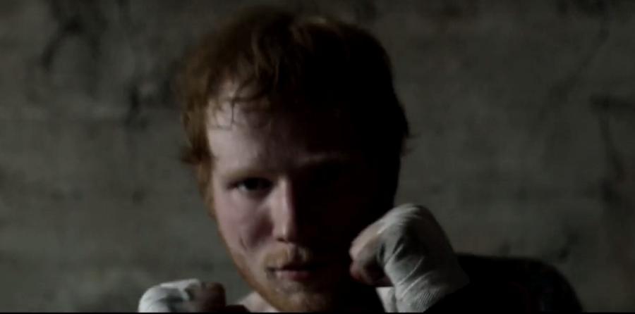 Ed Sheeran w teledysku \