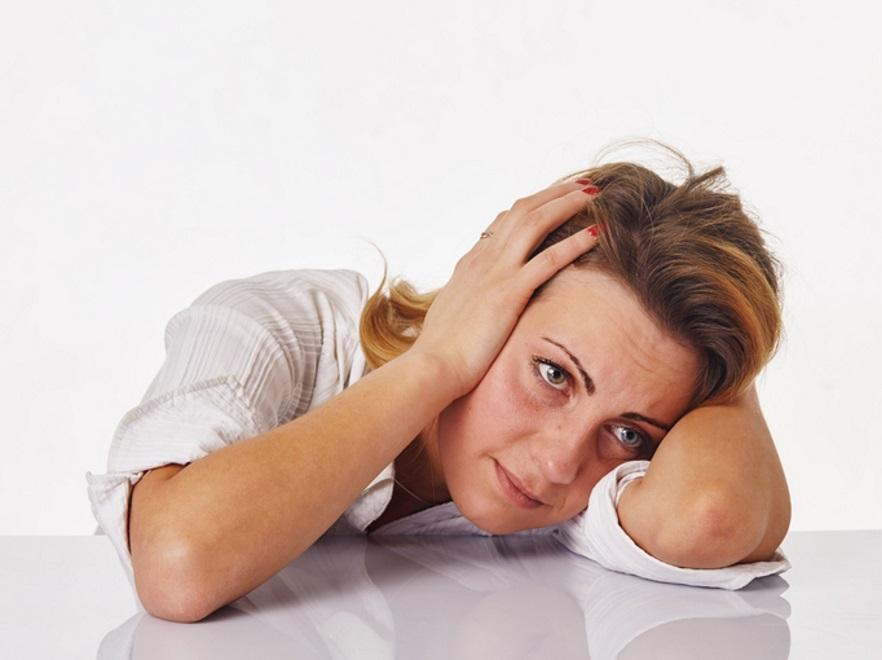 Znudzona kobieta