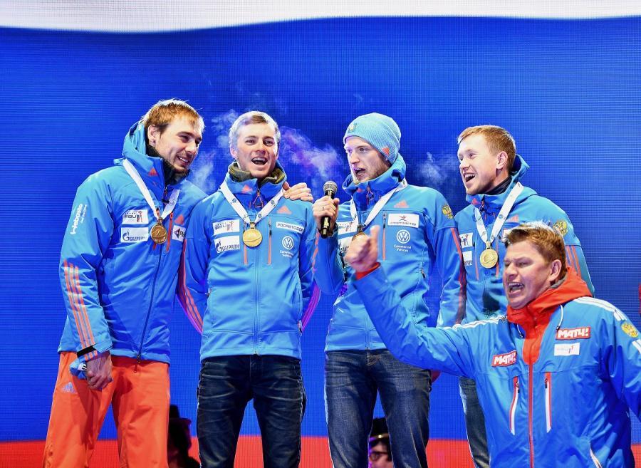 Dmitrij Gubierniew, Aleksiej Wołkow, Maksym Cwietkow, Anton Babikow i Anton Szypulin