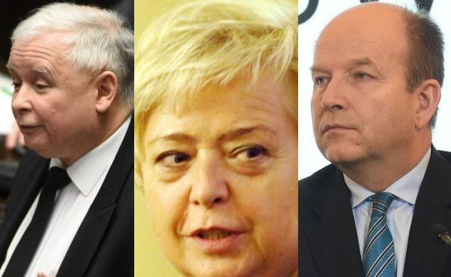 Jarosław Kaczyński, Małgorzata Gersdorf i Konstatnty Radziwiłł