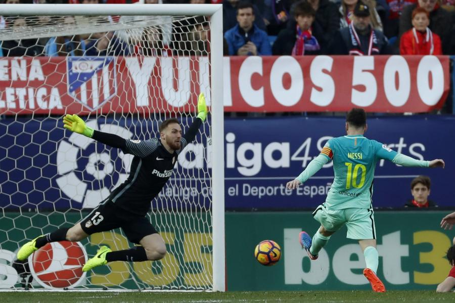 Lionel Messi i Jan Oblak