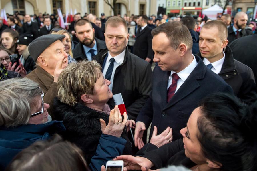 Prezydent w Rawiczu