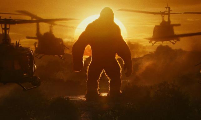 Spektakularne efekty specjalne. No i ta małpa. \