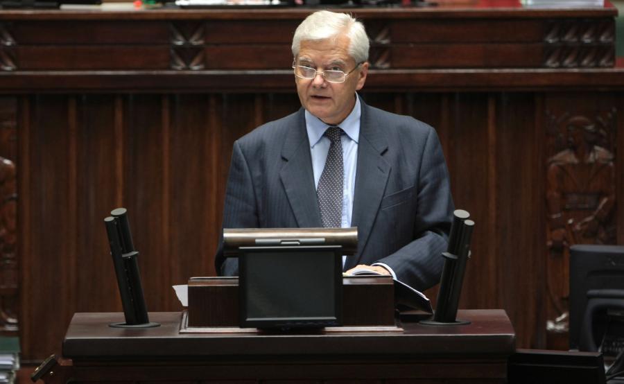 prof. Lech Gardocki w Sejmie