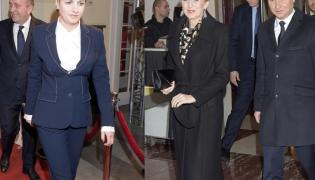 Grzegorz Schetyna i Kalina Rowińska-Schetyna oraz Agata Kornhauser-Duda i Andrzej Duda